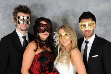 Masque or masked ball photograph
